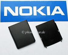 ORIGINAL NOKIA 2630 AKKUDECKEL BATTERY B-COVER REAR HOUSING FASCIA BLACK SCHWARZ