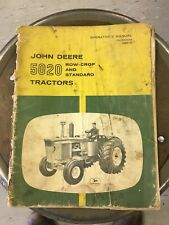 John Deere 5020 Tractor Operators Manual OM-R42449 ROW-CROP AND STANDARD