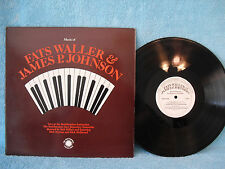 Music of Fats Waller & James P. Johnson, Smithsonian Collection N 021, 1980 Gate