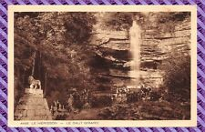 Carte postale - Le Hérisson - le saut  girard