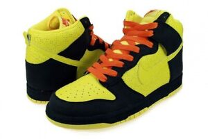 Nike Dunk High The Simpsons Size 10.5 Homer Simpson Voltage Yellow Midnight