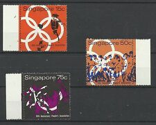 Singapore 1970 Peoples Association Issues, Sg 133-135 UnM/M [1003]