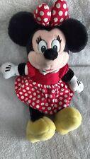 "New listing Vintage Disneyland Minnie Mouse Walt Disney World 13"" Plush Stuff Doll Mint Toy"
