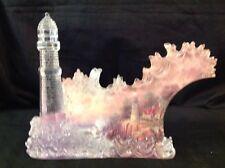 Rare Thomas Kinkade Conquering The Storm Bradford Exchange Sculpture Limited