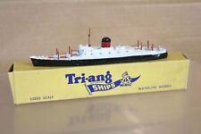 TRIANG MINIC SHIPS M708 RMS SAXONIA OCEAN LINER SHIP BOXED nq