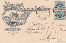 * BRACCIANO - Azienda Principe Odescalchi 1910
