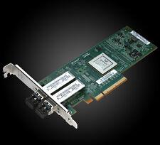 QLogic QLE8142-SR | Dual Port 10GbE SFP+ SR Adapter for LAN + SAN | FE0210402
