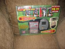 NIB 02 NFL Showdown Play Grid scanner & Cards electronic game 2 player Vintage