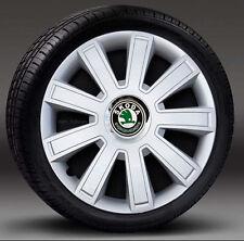 "4x15"" wheel trims, Hub Caps, Covers to fit Skoda Octavia"