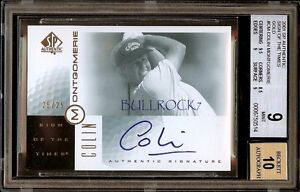 UDG Sign of the Times GOLD #25/25 COLIN MONTGOMERIE BGS 9 AUTO 10 SOTT #0387