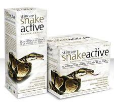 Anti Aging Schlangengift SET Gesichtscreme+ Serum mit Hyaluronsäure Falten BIO