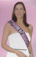 Sash Bride to Bling Satin (10cm Wide x 82cm) Bride to Be Hens Night Out party