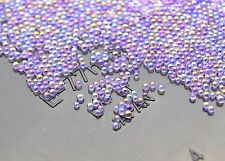 12g Glass Micro Beads No Hole 0.8mm -1mm Nail Art Caviar Marbles Microbeads B293