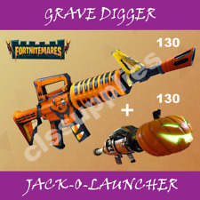 Fortnite 130 Energy Grave Digger Godroll / Buy 2 Get 1 Free / XBOX-PC-PS4
