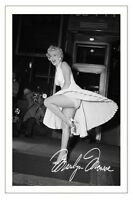 MARILYN MONROE AUTOGRAPH SIGNED PHOTO PRINT POSTER