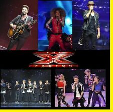 X FACTOR BEN HAENOW FLEUR  2015 CONCERT 1200 PHOTOS CD LIVE TOUR SET  1+2