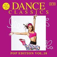 DANCE CLASSICS-POP EDITION VOL.10 (WHITBEY HOUSTON, LEVEL 42, WHAM!) 2 CD NEU