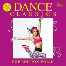 DANCE CLASSICS-POP EDITION VOL.10 (WHITBEY HOUSTON, LEVEL 42, WHAM!) 2 CD NEU