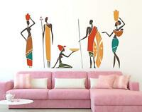 African People Vinyl Wall Decal Art Sticker for Baby Nursery Kids Bedroom Decor