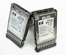 "10 Lot HP EG0146FAWHU 146GB 10K SAS 2.5"" Hard Drive with Caddy 507119-003"