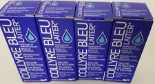 ORIGINAL Collyre Bleu Blue Laiter Eye Drop 10 ml EXP: 05/2022 NEW SEALED 4 PACK