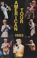 David Bowie American Tour Original 1983 Poster 23x34