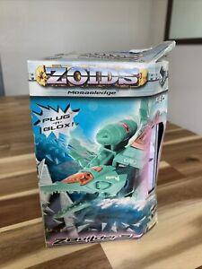 Zoids Mosasledge Model Kit #003 Z Builders Figure - Plug n Blox Toy Damaged Box