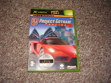 XBOX GAME PROJECT GOTHAM RACING 2  COMPLETE