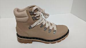 Sorel Lennox Waterproof Hiker Boots, Beige, Women's 7.5 M