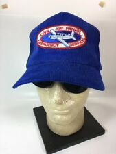 CIVIL AIR PATROL EMERGENCY SERVICES Embroidered Patch Corduroy Baseball Cap Hat