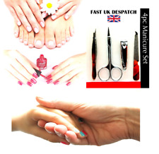 Manicure Set Nail Clippers File Care Cutter Kit Cuticle Pedicure Tool Groom Clip