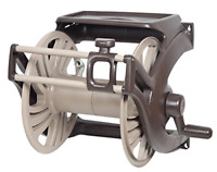 AMES 2415500 NeverLeak Poly Wall Mount Reel with Manual Guide and Tray, 225-Foot