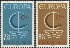 Iceland 1966 Europa/Ship/Boat/Politics/Transport/Animation 2v set (ex1008)