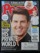 TOM CRUISE People Magazine 8/6/18 Prince George MINT NEW NBR Free Shipping