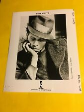 Tom Waits Press Photo 8x10, Island Records