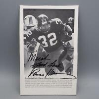 Pittsburgh Steelers Franco Harris Autographed Signed 5x8 NFL Photo