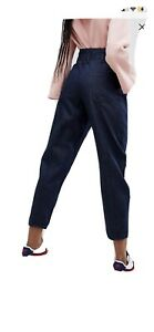 Asos Ballon Leg Jeans With Corset Waist Size W28 L32