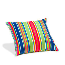 Climbing Multi Stripe Water Resistant Garden Outdoor 45cm Filled Scatter Cushion