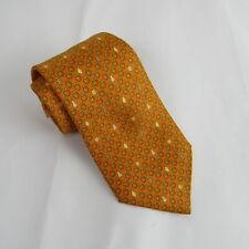 Hermes - Paris Tie Peach Color Apples Pears Lemons Pineapple Pattern Suit Accent