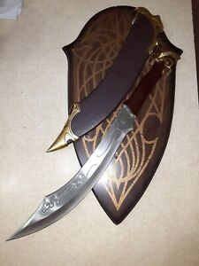 RARE - LOTR United Cutlery UC1371 Elven Knife of Strider Lord of the Rings