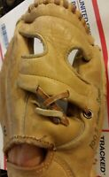Vintage Rawlings RARE MM9 Mickey Mantle Triple Crown Leather Baseball Mitt fr/sh