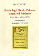 STORIA DEGLI EBREI A PALERMO DURANTE IL FASCISMO 7332