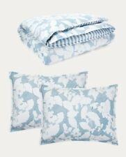 Ralph Lauren Full/Queen Duvet Cover Set (Willa Floral-Blue/White)