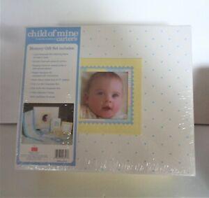 CARTER'S CHILD OF MINE - MEMORY GIFT SET BABY KEEPSAKE BOX NIB