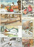 New Year Theme With Kids People And More Postcard Lot of 30 01.13