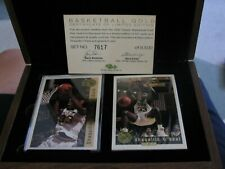 1992 Classic Draft Picks Shaquille O'Neal Auto Factory Sealed Gold Set 7617/8500