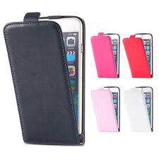 Luxury Flip Magnetic Leather Cover Vertical Phone Case for Various Phones