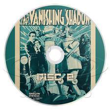 The Vanishing Shadow (1934) 12 Chapter TV / Movie Serial (2 x DVD)