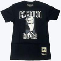 """Mitchell & Ness Navy MLB New York Yankees """"The Bambino"""" T-Shirt"""