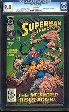 Superman Man of Steel 17 CGC 9.8 WP Copper DC Key 1st App Doomsday IGKC L@@K